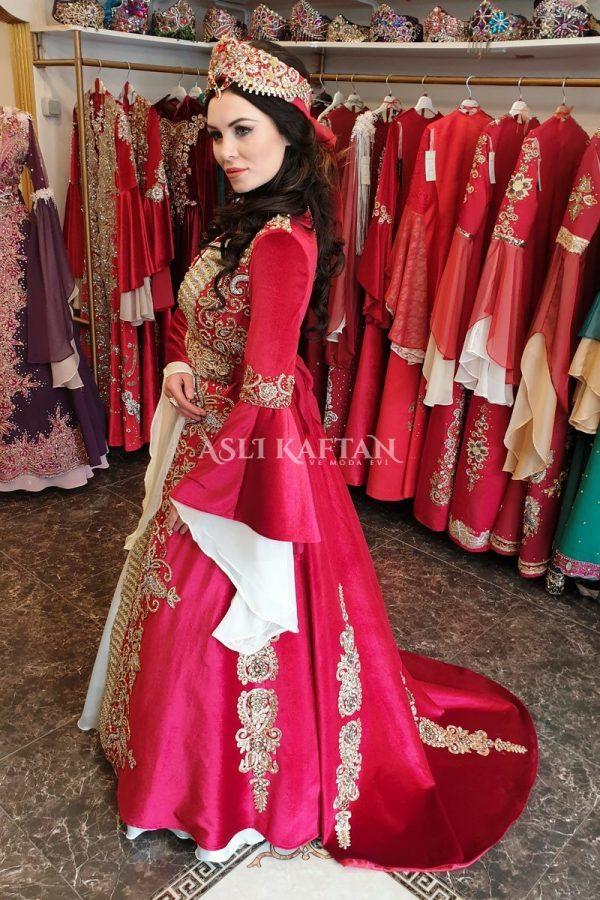 Rana Kırmızı Kuyruklu Bindallı Modeli