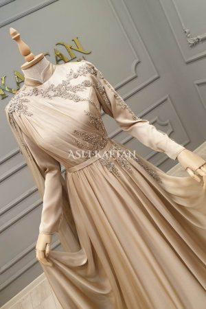 Kiraz Vizon Abiye Modeli,