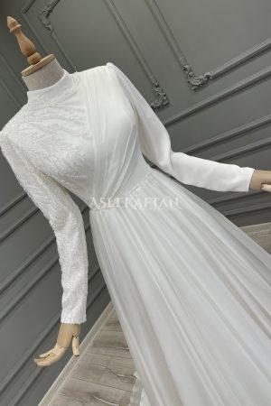 İnci Nikah Elbisesi,